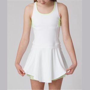Ivivva White Court Love Dress